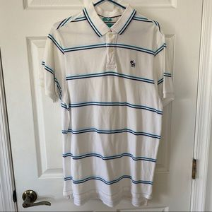 Abercrombie Polo XL White and blue